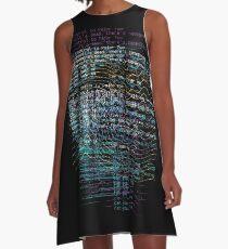 Lost Signal A-Line Dress