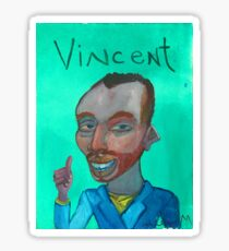Vincent  Sticker