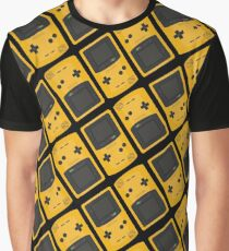 Gameboy Colour repeat pattern Graphic T-Shirt