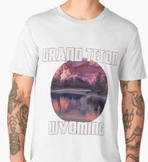 Grand Teton Park - Wyoming Men's Premium T-Shirt