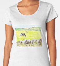 The View Across The Road Women's Premium T-Shirt