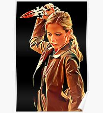 'Buffy in Black' by JACKASH Poster