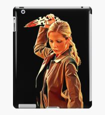 'Buffy in Black' by JACKASH iPad Case/Skin