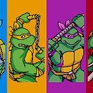 TMNT Rainbow, Pixel Arcade Edition by horatiohayden