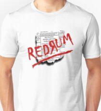 The Shining - Redrum (Murder) Unisex T-Shirt