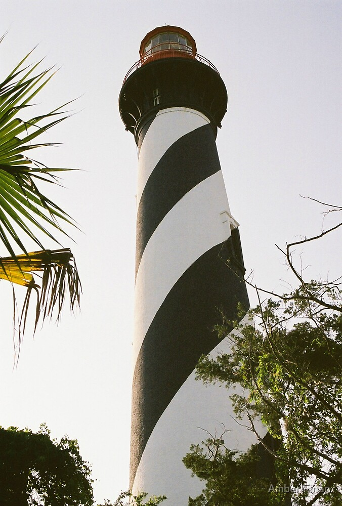 St. Augustine lighthouse 1 by Amber Finan