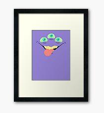 Monster Mugs - Tasty Framed Print