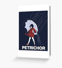 PETRICHOR - Phish Greeting Card