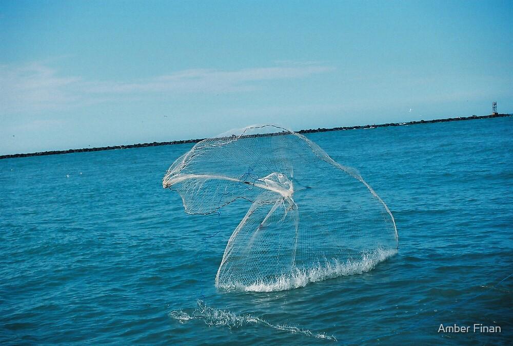 A Fishermens net by Amber Finan
