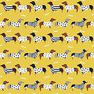 Dachshund dog breed weener dog sweater doxie dachsie pet friendly pattern by PetFriendly