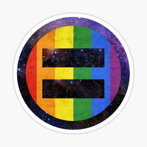 Equality Pride Universe Sticker