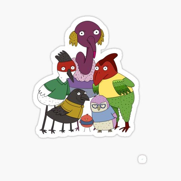 Birdshirt Hemsworth Sticker