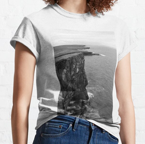 The Cliffs At Dun Aengus Classic T-Shirt