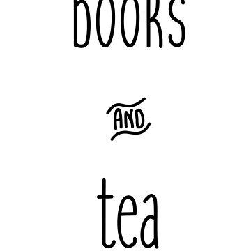 books and tea by GeorgiaMae14