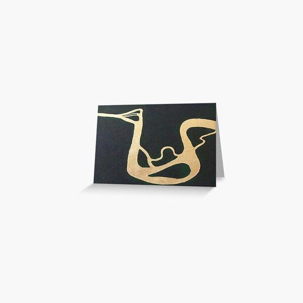 Amazon Bird Greeting Card