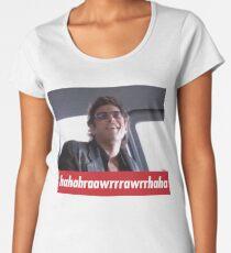 Jeff Goldblum Laugh  Women's Premium T-Shirt