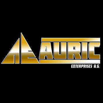 Auric Enterprises : Inspired by James Bond - Goldfinger by WonkyRobot