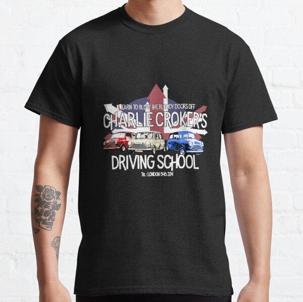 Escuela de manejo de Charlie Croker: Inspirado por The Italian Job Camiseta clásica