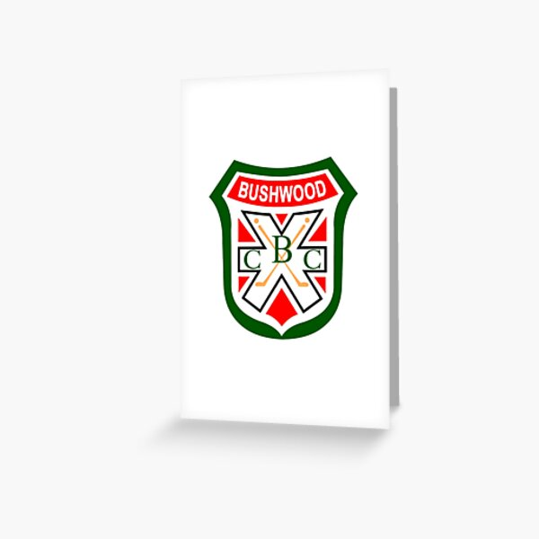 Caddyshack - Bushwood Country Club Greeting Card