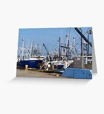 Shipyard Greeting Card
