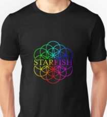 Starfish Coldplay AHFOD Flower of Life T-Shirt