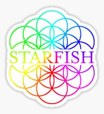 Starfish Coldplay AHFOD Flower of Life Sticker
