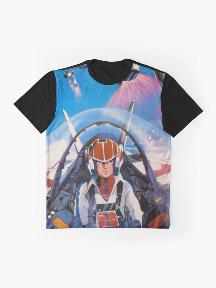 Alternative Ansicht von Robotech 1985 Rick Hunter Grafik T-Shirt
