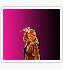'Buffy in Pink' by JACKASH Sticker