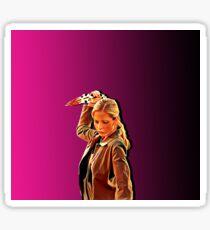 'Buffy in Pink' by JACKASH Sticker