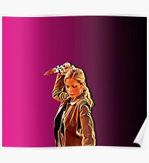 'Buffy in Pink' by JACKASH Poster