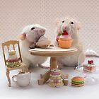 Tea and cake party by Ellen van Deelen