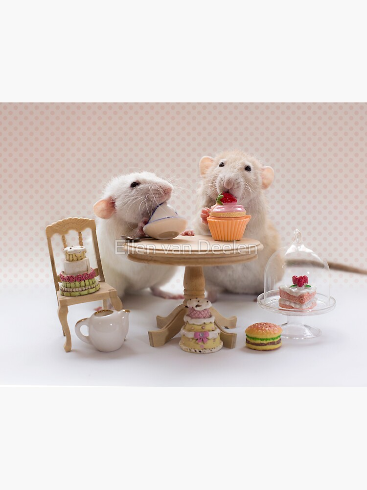 Tea and cake party by Ellen