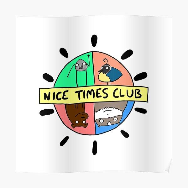 Nice Times Club Logo Poster
