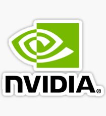 Nvidia Logo Sticker