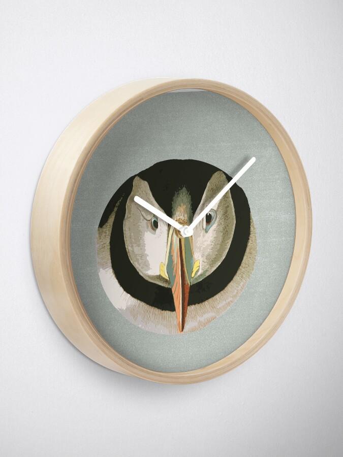 Alternate view of Puffling time Clock