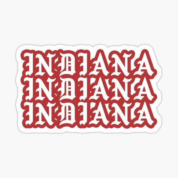 INDIANA gothic Sticker