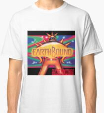 Earthbound Restored Poster Retro-Gaming Art, From Game Cover Art Classic T-Shirt