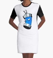 Spray can Graphic T-Shirt Dress