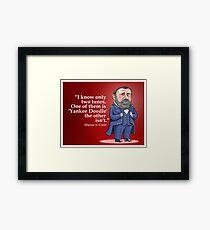 """Ulysses S. Grant, """"Yankee Doodle"""" Framed Print"""