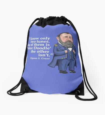 "Ulysses S. Grant, ""Yankee Doodle"" Drawstring Bag"