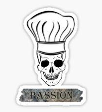 PASSION & PROFESSION CHEF Sticker