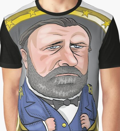 President Ulysses S. Grant Graphic T-Shirt