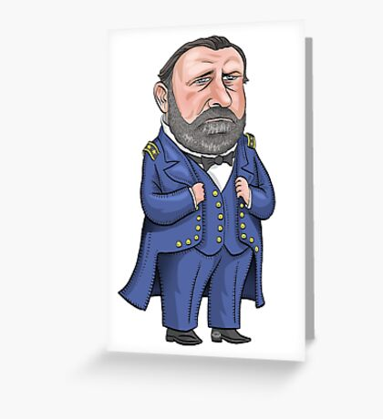 President Ulysses S. Grant Greeting Card