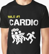 Zombie Survival Rule #1 Cardio Graphic T-Shirt