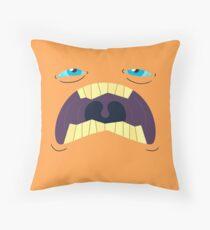 Monster Mugs - Sleepy Throw Pillow