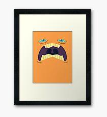 Monster Mugs - Sleepy Framed Print
