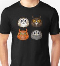 Four Round Owls T-Shirt