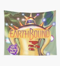 Earthbound Restored Rare Poster  Wall Tapestry