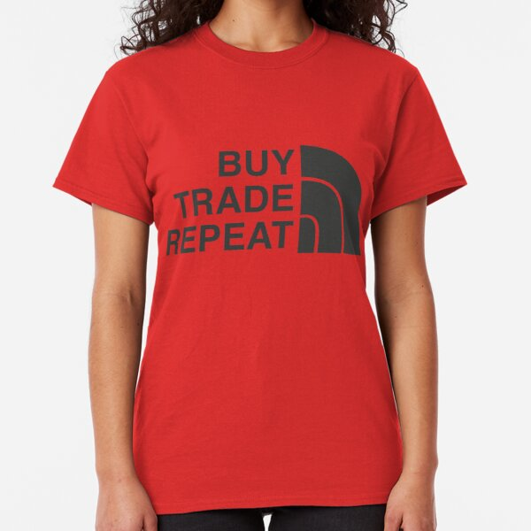 Buy Trade Repeat Cryptocurrency Classic T-Shirt