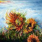 Sunflower - Burning Desire to Fly by Harsh  Malik